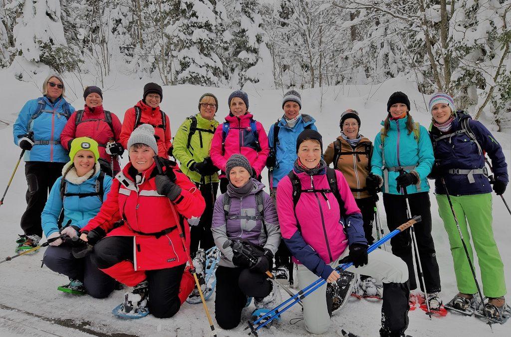 Schneeschuhtour Oberiberg 2019
