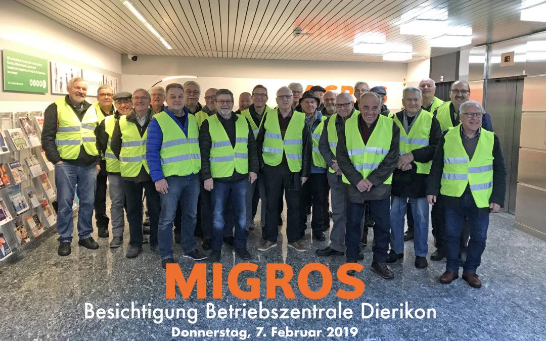 Ausflug Betriebszentrale Migros Dierikon