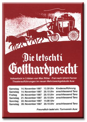 Die letschti Gotthardposcht