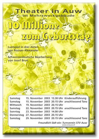 10 Millione zum Geburtstag