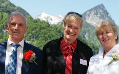 ZSV Jahresversammlung in Giswil Ehrung Rosmarie und Lukas Bütler